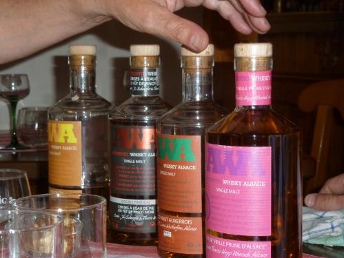 AWA whisky's