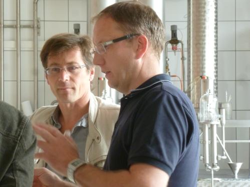 Denis Hanns en Yannick Hepp
