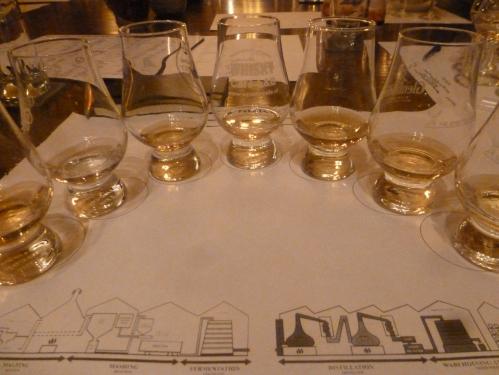 Het mooiste uitzicht voor mij is zeven glazen op een rij (vrij naar Jan Boerstoel)