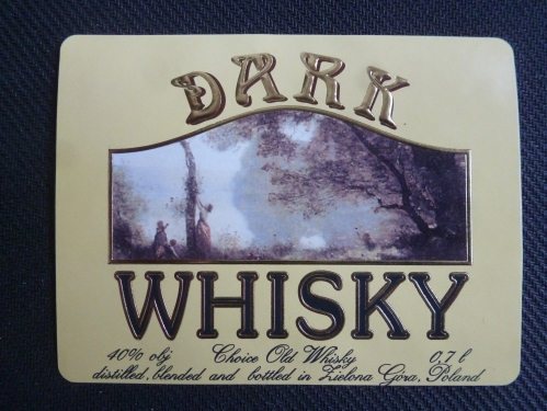 Dark whisky