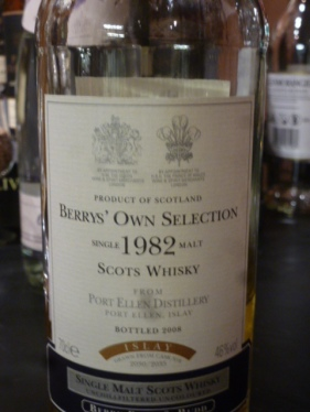 Port Ellen 28 y.o., 46% abv, Berry's Own Selection
