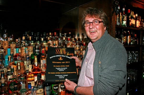 Toon Coppens en whiskyprijs 2011