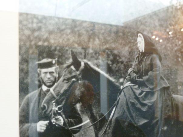 Queen Victoria rouwt (met John Brown)