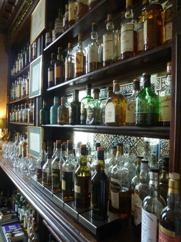 De whiskykast