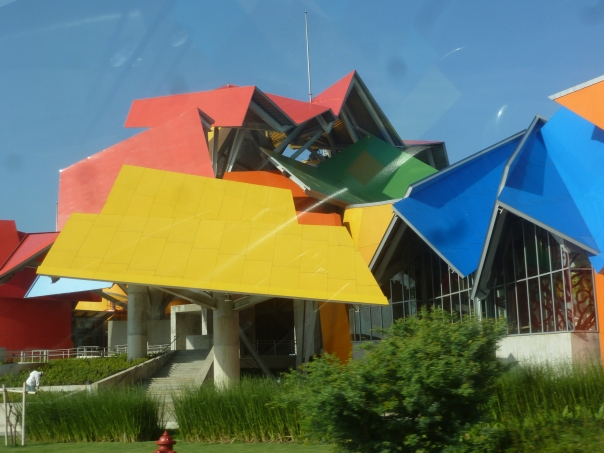 Frank O Gehry in Panama