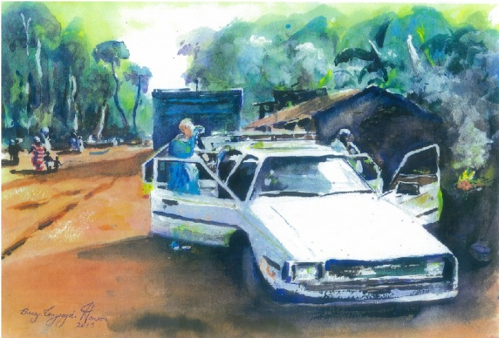 My Thirsty Dawn, Manfe Road, Cameroon