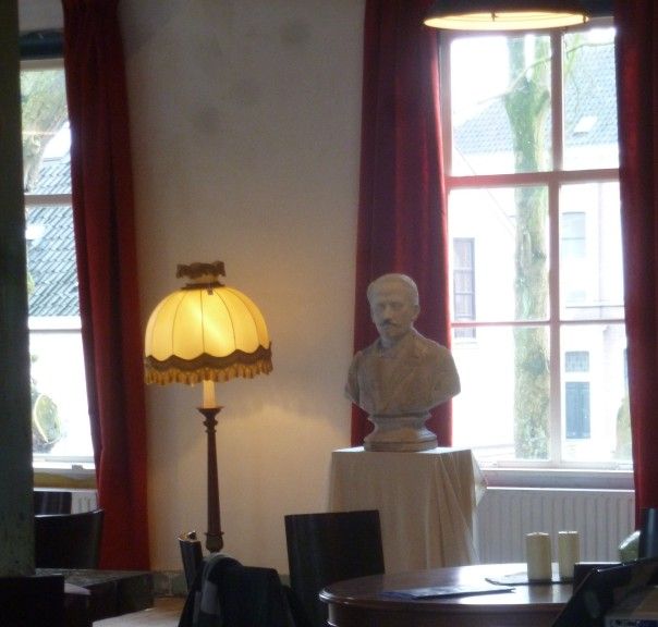 Robert Burns in de bovenzaal