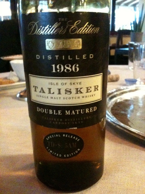 Talisker Double Matured 1986