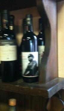 Wijn voor il Duce.