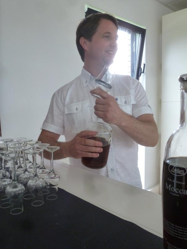 Patrick Zuidam presenteert de nieuwe PX jenever