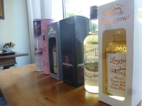 De Campbeltown line-up