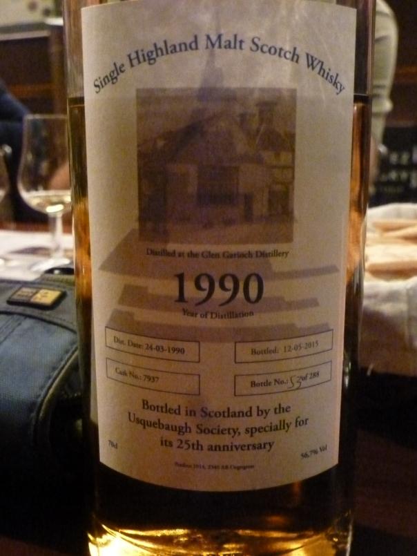 Glen Garioch 25 y.o. 1990