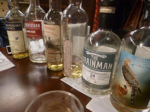 Vergeten whisky's ?