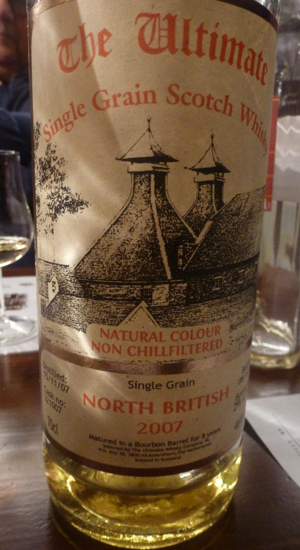 North British single grain 8 y.o.