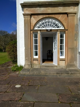 Islay House front door