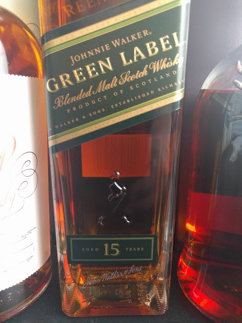 JW Green Label blended malt