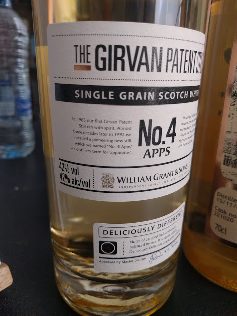 The Garvin Patent Still no 4 single grain