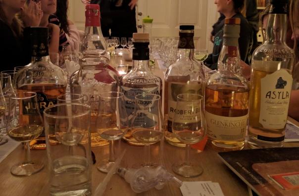 Een beginners whisky line-up