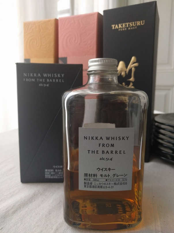 Nika whisky from the barrel