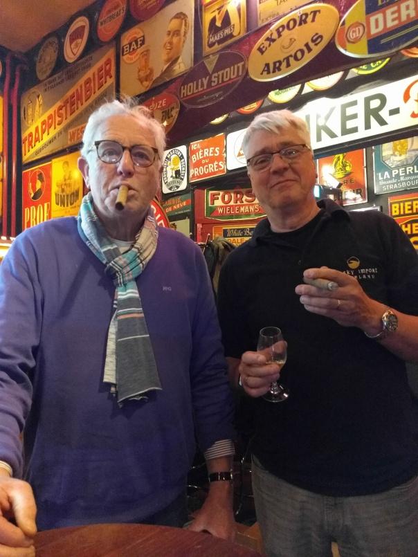 Ton Buenen en Frank Handgraaf
