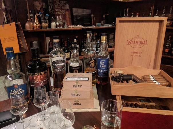 whisky en sigaren