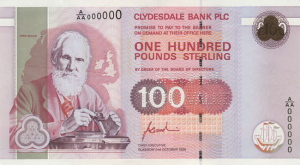 FSSeries Lord Kelvin 100 GBP