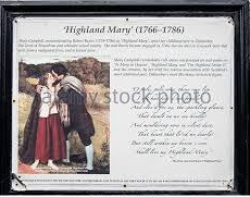Highland Mary Robert Burns