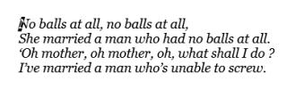 No balls at all