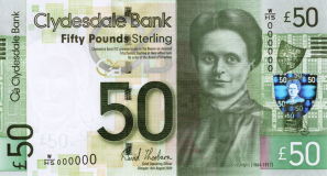 WHSeries Elsie Inglis 50 GBP