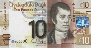 WHSeries Robert Burns 10 GBP