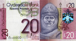 WHSeries Robert the Bruce 20 GBP