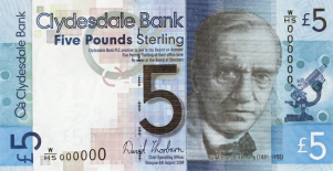 WHSeries Sir Alexander Fleming 5 GBP