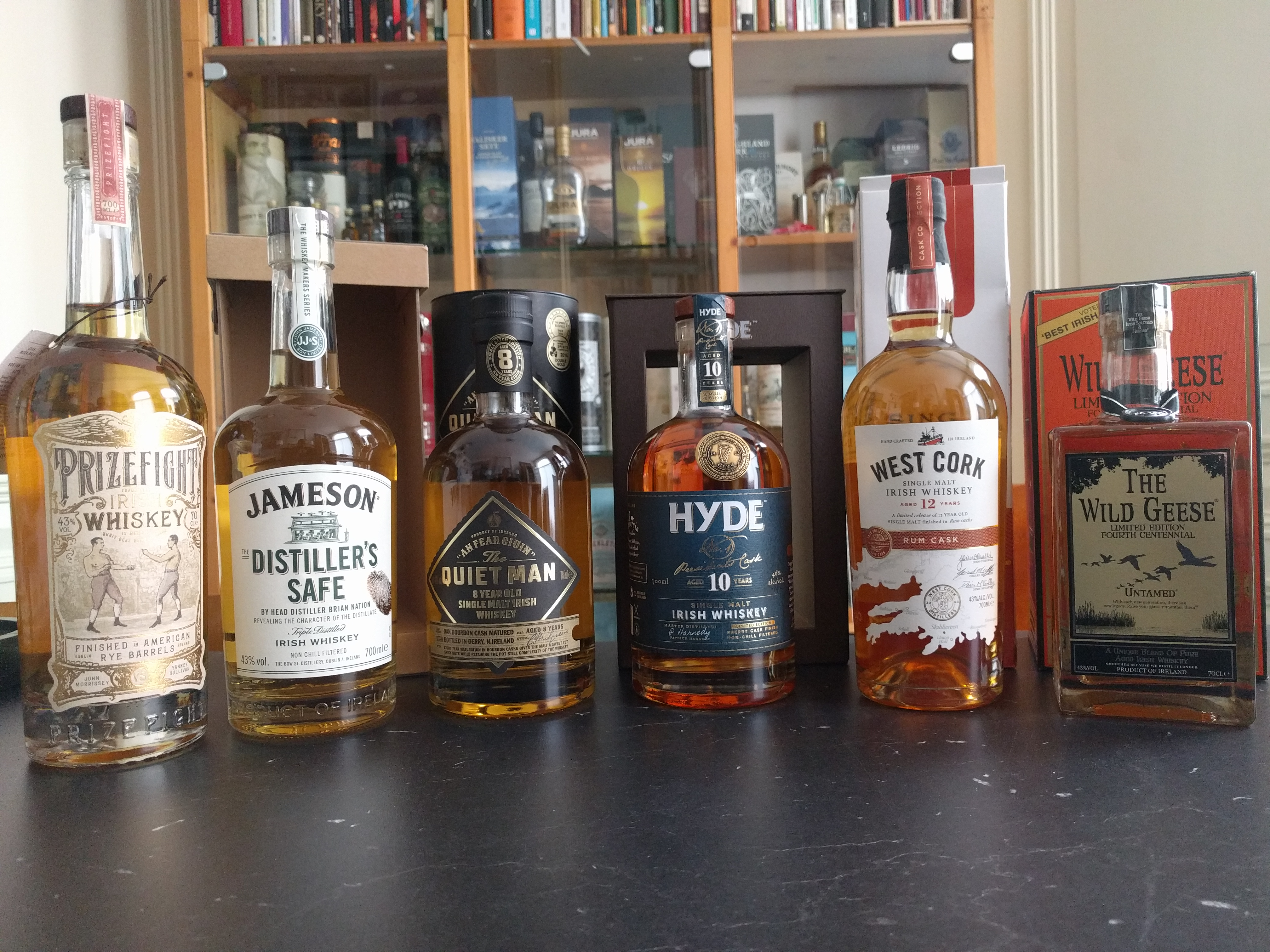 My Irish line up