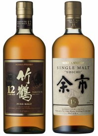 Nikka whiskeys