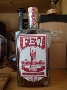 FEW on bottle