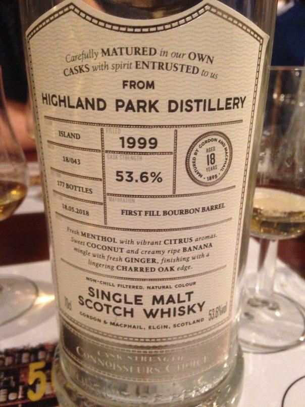 Highland Park 1999 53.6 % abv