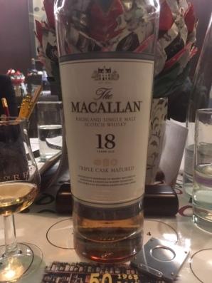 Macallan 18 yo , 43% abv (2000-2018)