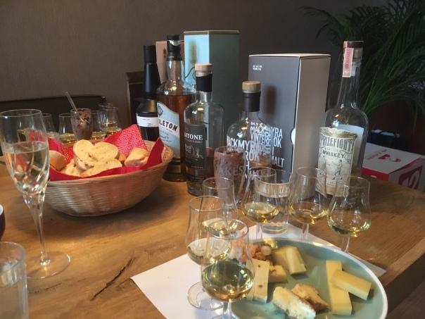 Line up wereldwhisky's
