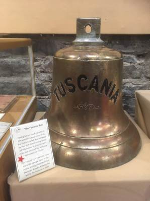 The Tuscania ship bell