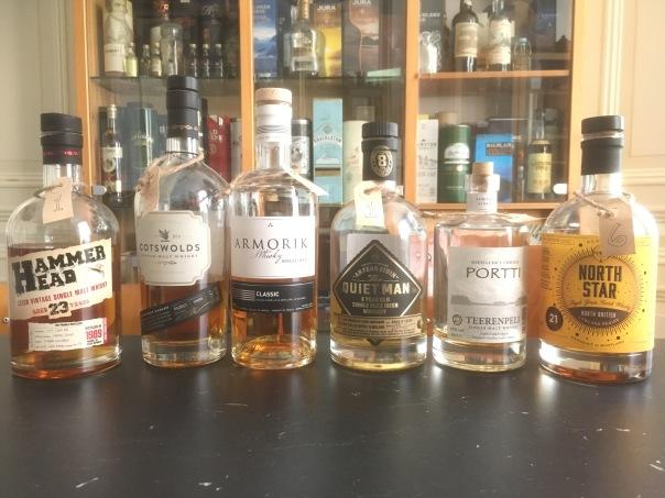 Line up 6 april 2019 Europese whisky's