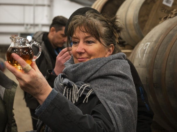 """Just checking"" (Rachel at Kilchoman 2019 IWA)"